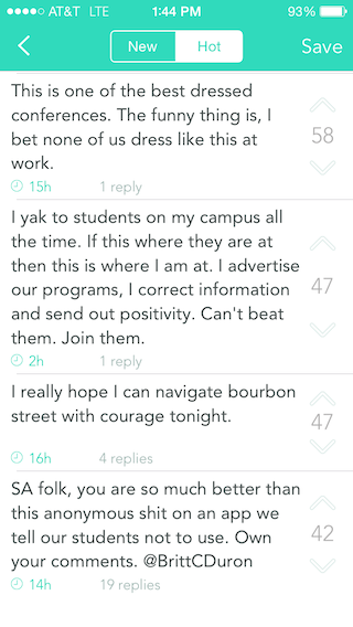 Should College Administrators Yak Back? - The Chronicle of