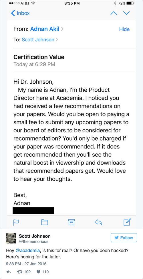 Scholars Criticize Academia Proposal To Charge Authors For
