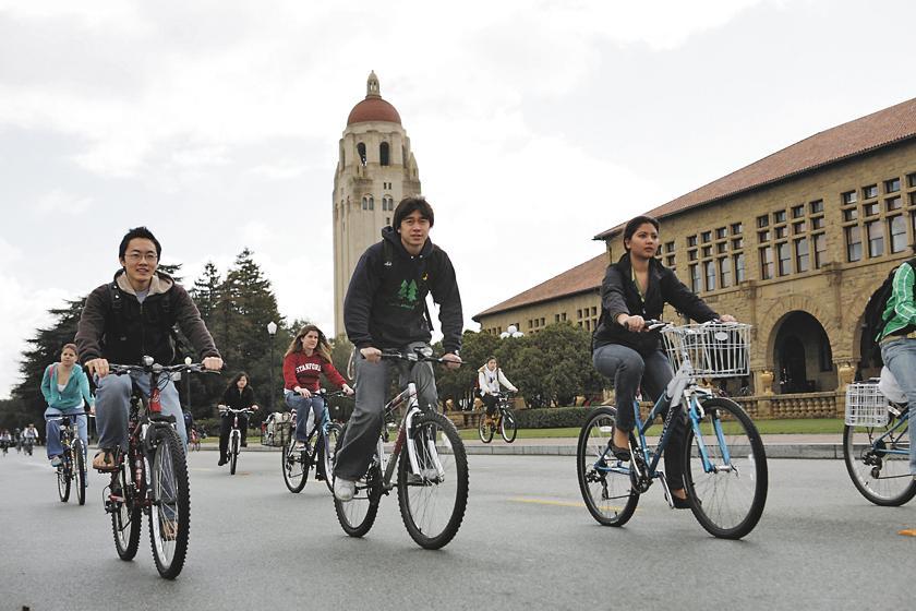 Bikes at Stanford U.