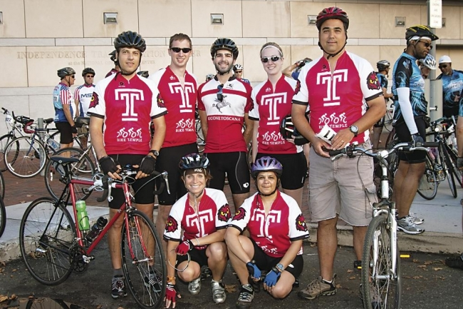 Temple U  Doctors Pedal for Charity - The Chronicle of Higher Education
