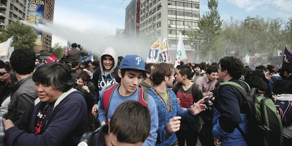 In Chile, Students' Anger at Tuition Debt Fuels Protests and a National Debate 1