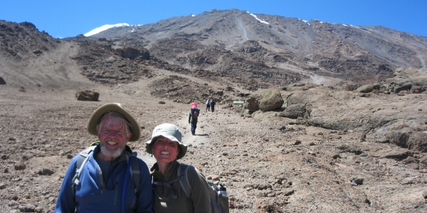 Father and Daughter, Both Professors, Climb Kilimanjaro 2