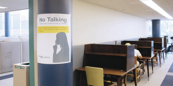 At Libraries, Quiet Makes a Comeback 1