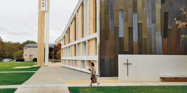 A Small Catholic College Broadens Its Mission as It Grows 1