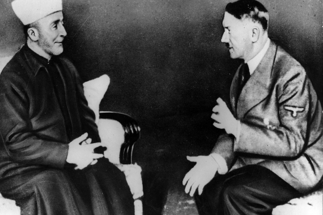 hate radio nazi propaganda in the arab world   the chronicle of  haj amin al husseini a palestinian leader in exile in berlin helped hitler  broadcast nazi ideas in passionate fluent arabic