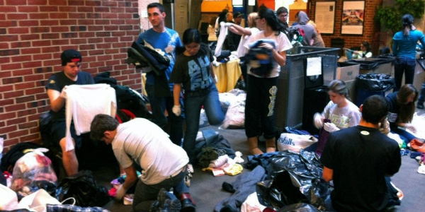 A Week After Hurricane Sandy, Students Step Up Their Relief Work 1