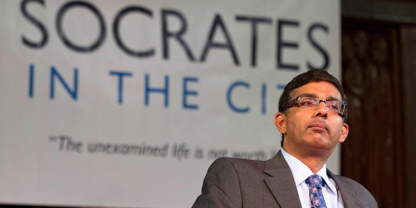 The Sudden Fall and Public Reinvention of Dinesh D'Souza 1