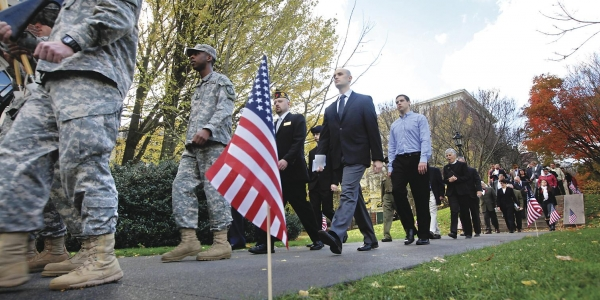 At Elite Colleges, a Push to Enroll More Veterans 1