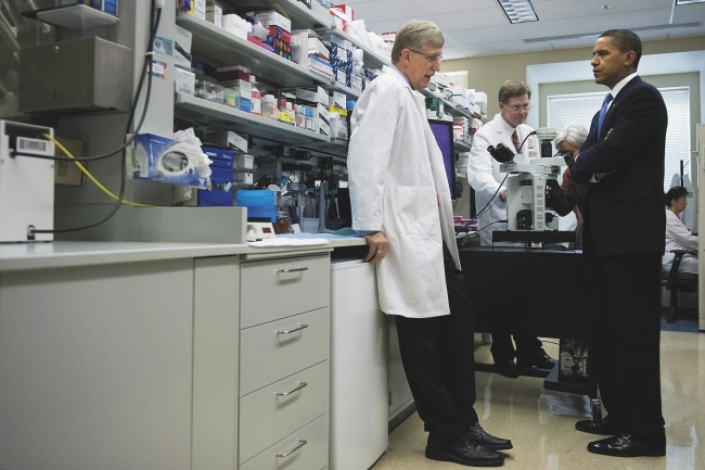 NIH Will Give Less and Demand More in 2010, New Leader Says