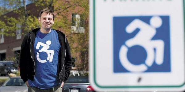New York City Embraces a College's New 'Handicapped' Symbol 1