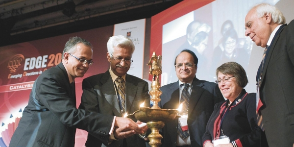 Indian and American Academics Talk Reform and Partnerships in New Delhi 1
