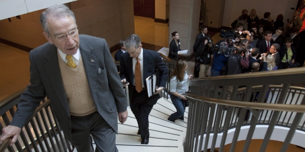 Charles Grassley-Stairs