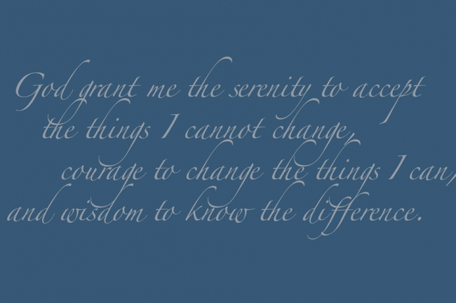 photo relating to Serenity Prayer Printable referred to as Who Wrote the Serenity Prayer? - The Chronicle of Large