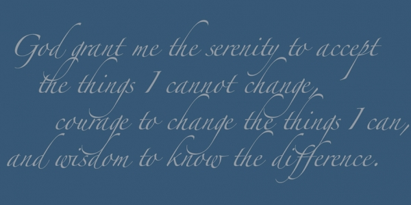 Who Wrote The Serenity Prayer?