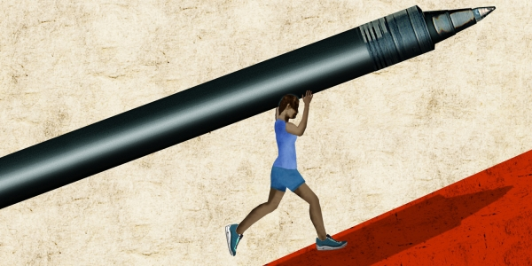 What Writing and Running Have in Common