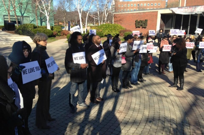 At One College, Professors Support Students Protesting Racial