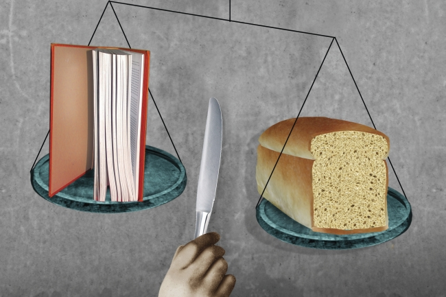 Students Shouldn't Have to Choose Between Books and Food
