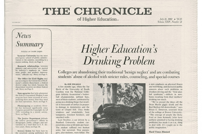 drinking concerning campus articles