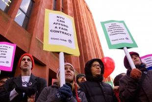 NYU's Graduate Union: Success Story or Cautionary Tale?