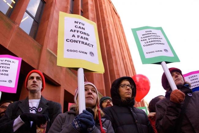NYU's Graduate Union: Success Story or Cautionary Tale
