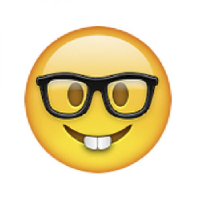 Apple s new iPhone software suggests a  nerd  emoji when you type  professor.