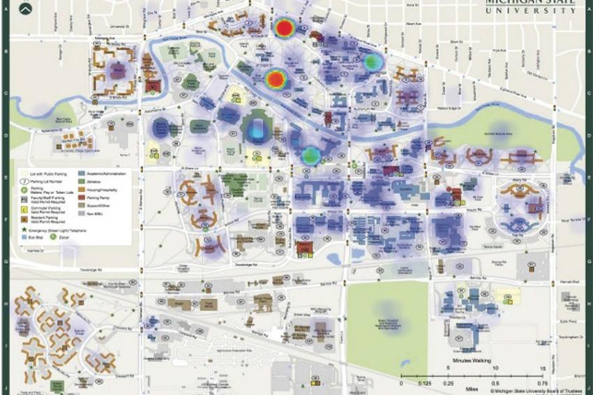 Oregon State University Printable Campus Map