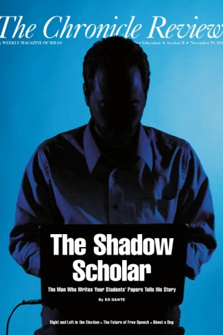 The Shadow Scholar  The Chronicle Of Higher Education When Ed Dante Published His Pseudonymous Account Of How He Made A Living  Writing Student Papers  Admissions Essays Undergraduate Reports Graduate  Theses  Assignment Help In India also Website Writers  English Essay Outline Format