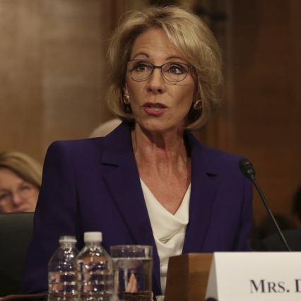 DeVos Takes Center Stage: Highlights From Her Confirmation Hearing