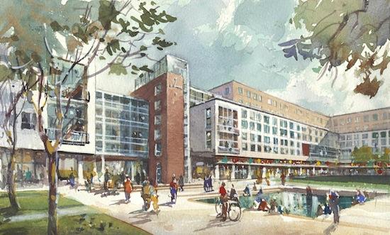 Rutgers U Plans 140 Million 1 500 Bed Housing Project