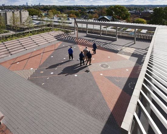 3 Projects Rooftop Garden At Tufts Union Addition At
