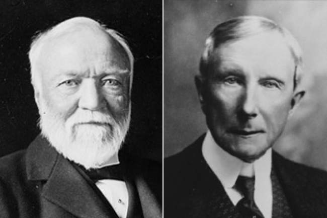 compare and contrast andrew carnegie Compare and contrast of emma goldman's and henry frick's view of the   tyranny because she compares them to america's forefathers'  andrew  carnegie.
