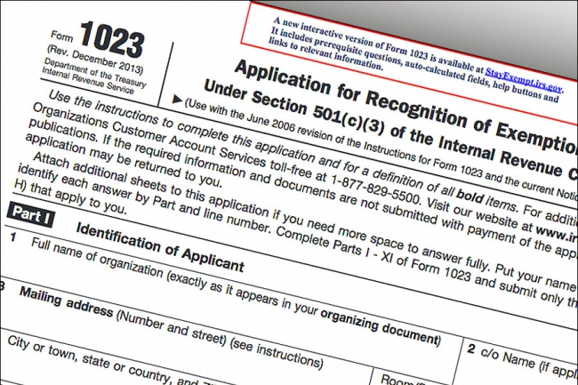 Irs Releases Ez Application For Charity Status The Chronicle Of
