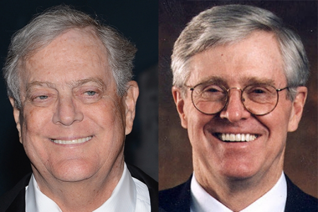 Kochs influence spans nonprofits government and for David koch usa
