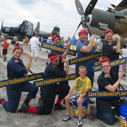 Saving Rosie the Riveter's Factory and Salvaging a Capital Campaign