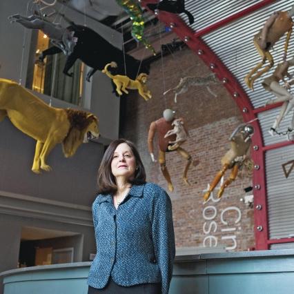 Karen Brooks Hopkins Stages a Success Story