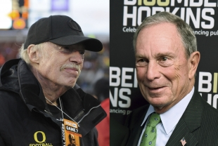 Phil Knight Tops Bloomberg With $1.8 Billion in Gifts to Universities