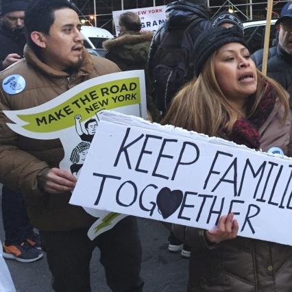 Group's Huge Volunteer Turnout to Raise Money for Immigrants
